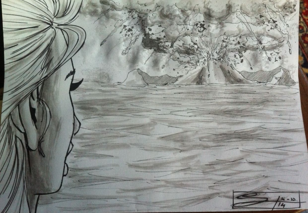 Fourth entry for Inktober. (2014) I'm really having fun!