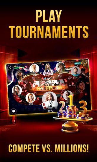 Zynga Poker App Store