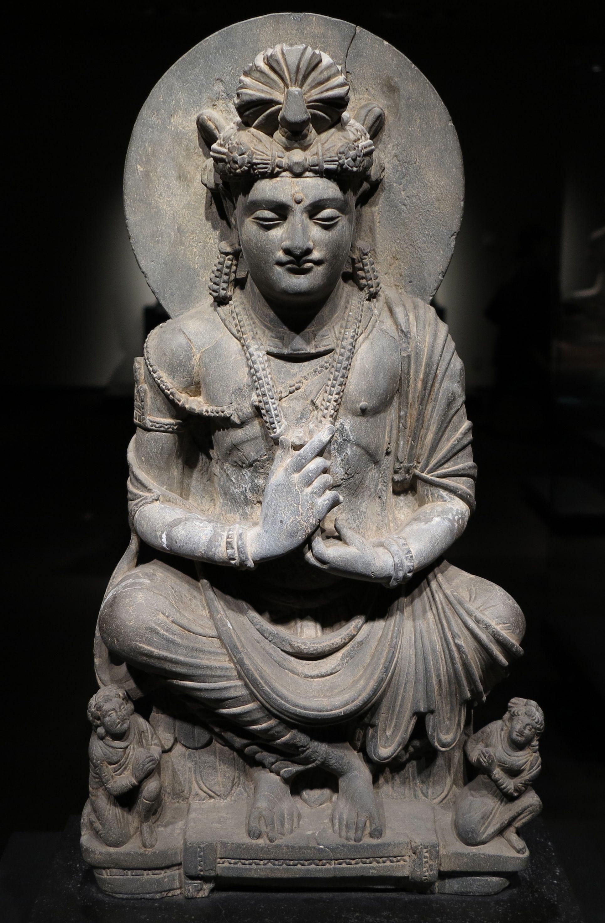 Gandhara Historical Statues Buddhist Art Ancient Art