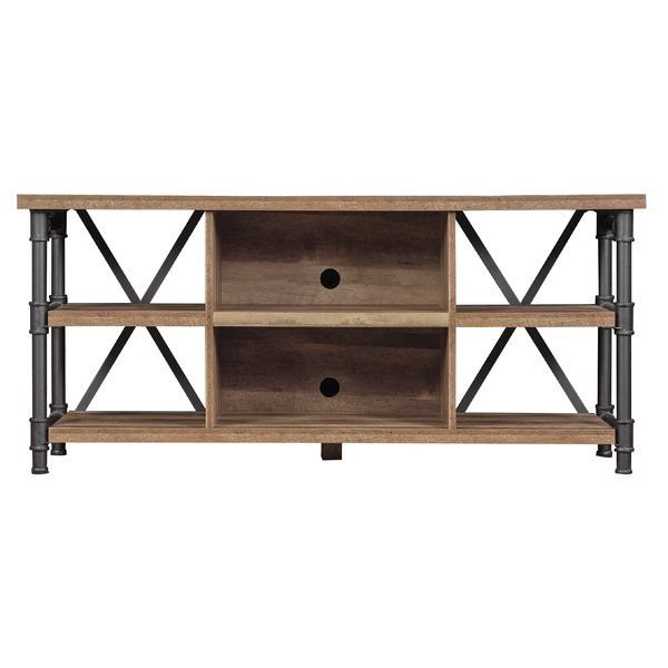 Millen Tv Stand For Tvs Up To 60 Inches Industrial Tv Stand