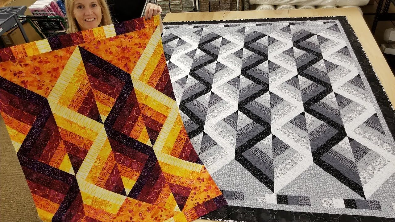 Mirror Mirror On The Wall This Is My Favorite Free Quilt Pattern Of All Youtube In 2020 Quilt Design Wall Bargello Quilt Patterns Quilt Patterns Free