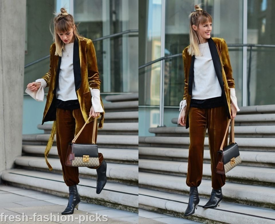 63ff3372 Zara Silk Blend Velvet Mustard Lapel Jacket Blazer Size XS ref. 8459 ...