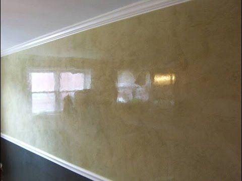 Marmorino Decorative Plaster Sto Stiuk Wenecki Youtube Venetian Plaster Walls Plaster Walls Stucco Walls