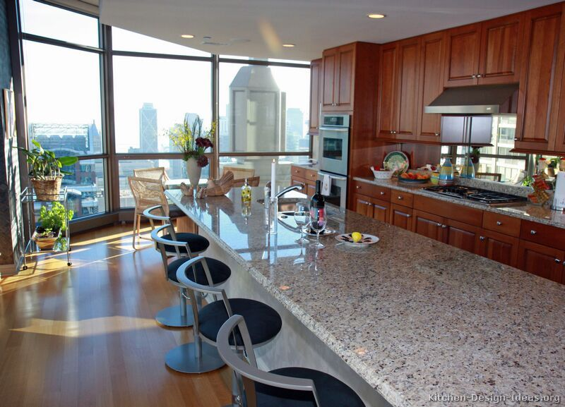 Best Kitchen Of The Day A High Rise Kitchen With A Skyline 400 x 300