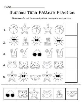 free summer pattern practice pinterest summer patterns patterns. Black Bedroom Furniture Sets. Home Design Ideas