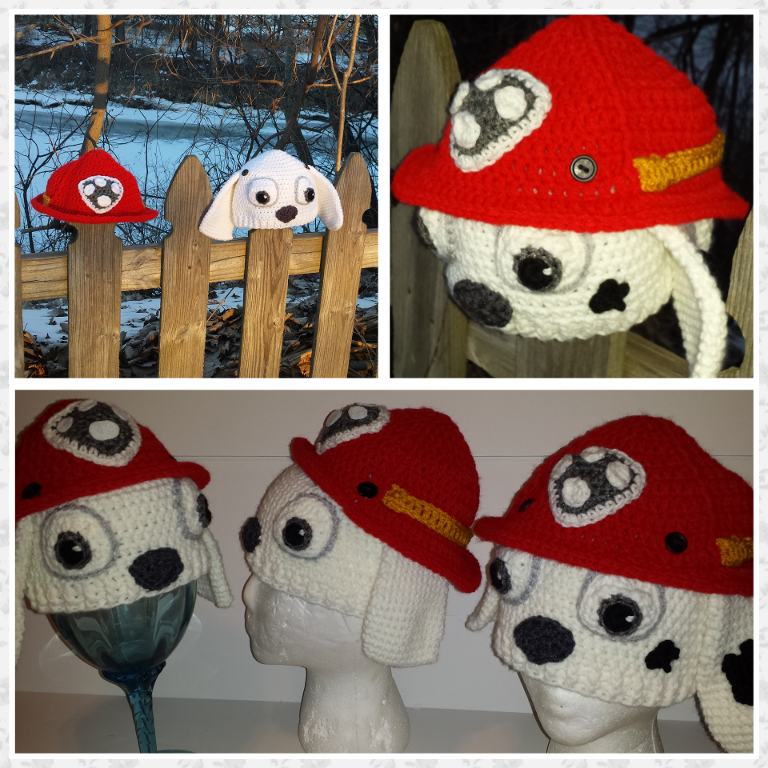 Paw Patrol Marshall Inspired Fireman Hat | hat | Pinterest | Häkeln ...