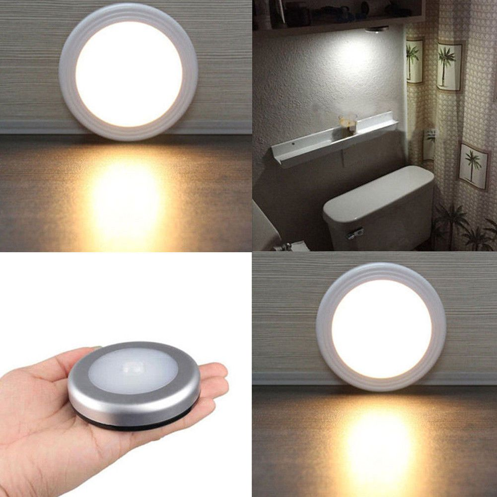 gbp pir motion sensor led lamp wireless batterypowered
