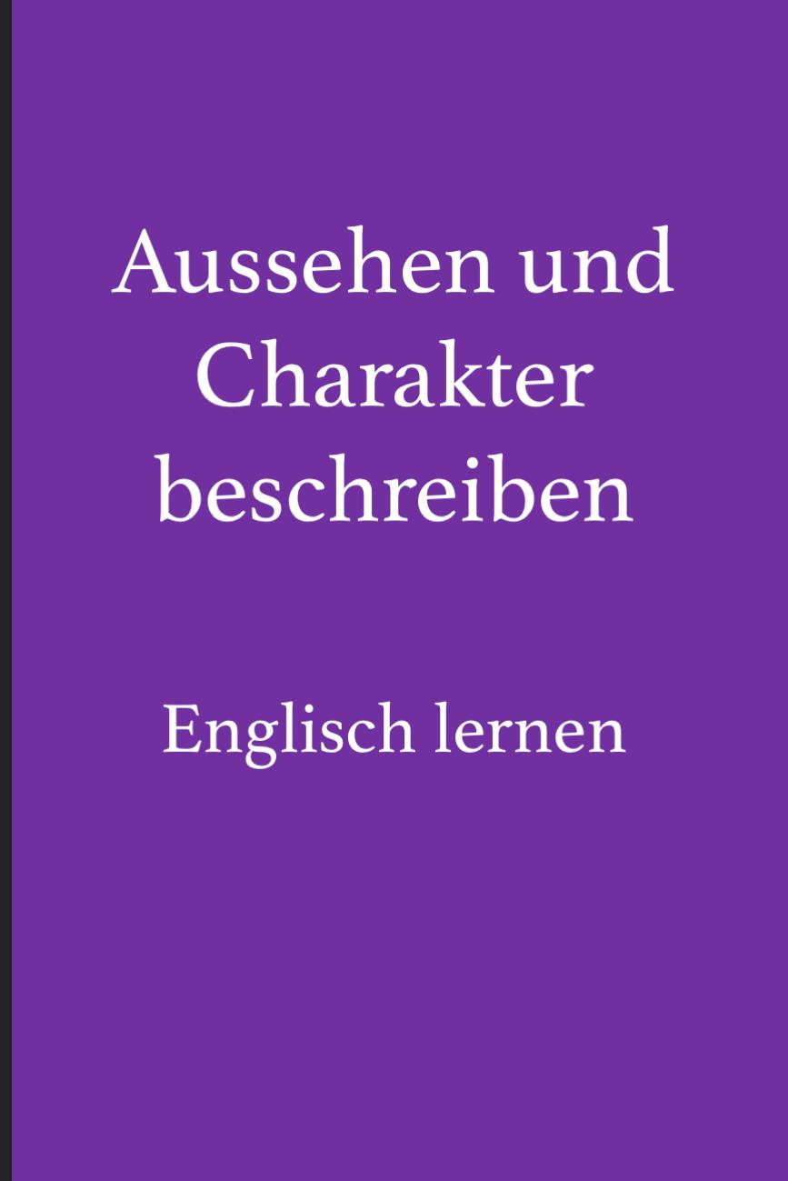 Charaktereigenschaften Auf Englisch