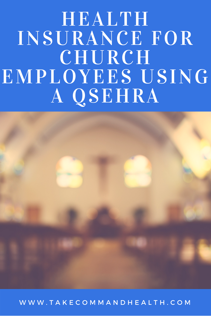 Health insurance for church employees using a QSEHRA