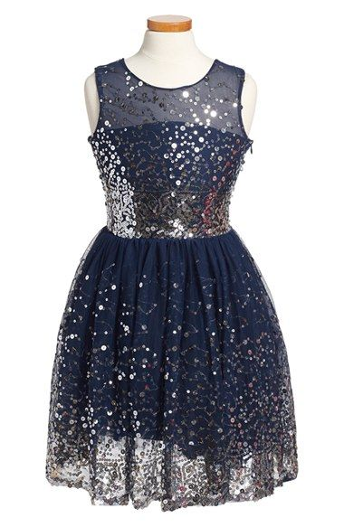 2cd769c3a Fiveloaves Twofish  New Years Eve  Sequin Party Dress (Big Girls ...