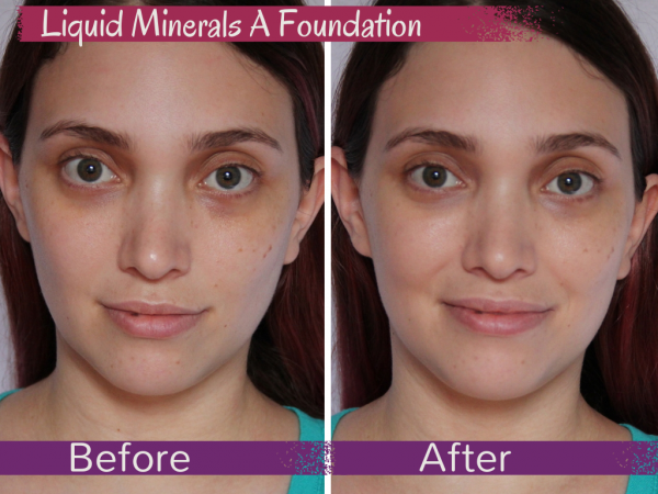 Jane Iredale Liquid Minerals A Foundation Review, Photos