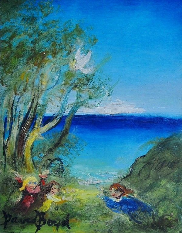 'Fun & Games at Tasmin Beach'...David boyd