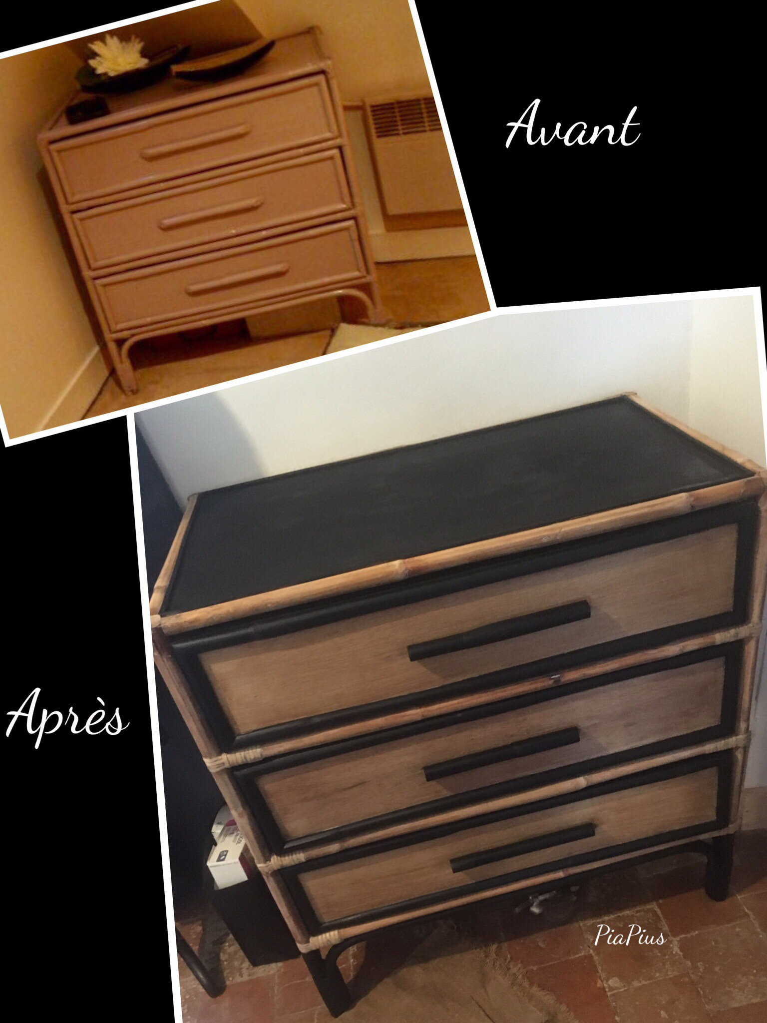 Relooker Une Commode En Style Industriel Poncee Poignees Coupees