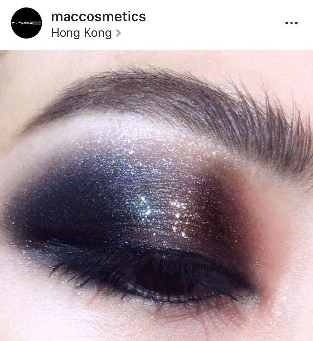 The Glossy Smokey eye from Mac cosmetics