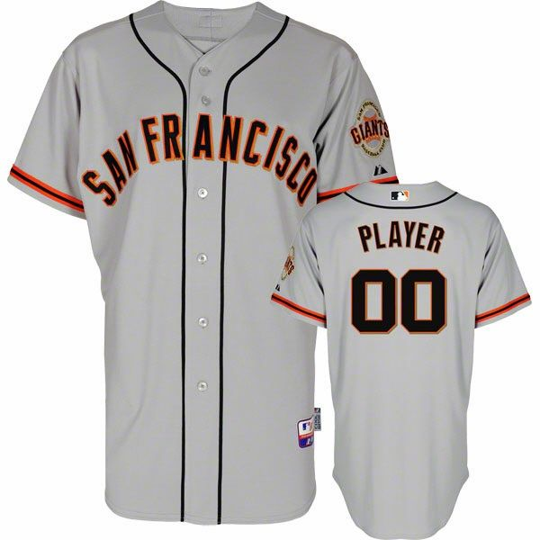 San Francisco Giants Customized Authentic Road Cool Base On Field Baseball Jersey 199 99 San Francisco Giants Jersey Sf Giants