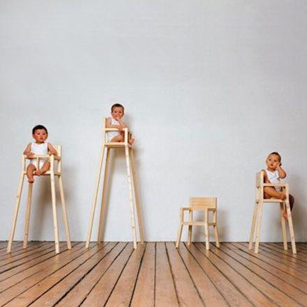 Droog Highchair Children S Chair Modern Kids Furniture Modern Kids High Chair