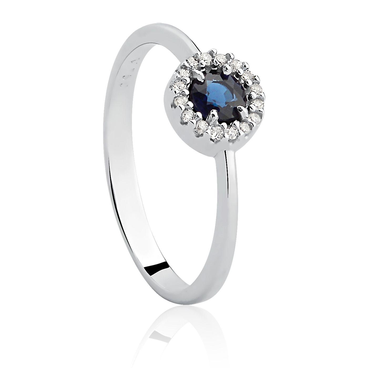 db5e06e4e4bb4 Anel Ouro Amarelo Diamantes e Safira   Jewerly   Pinterest   Jewelry ...