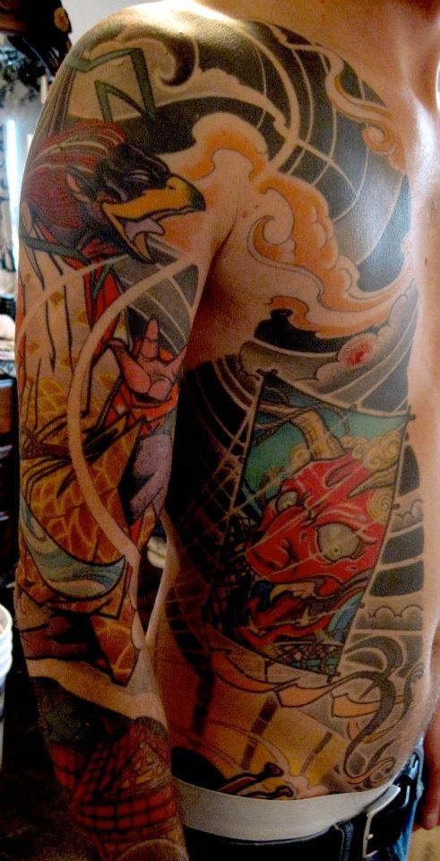 Beautiful ink by seve donigdoing bandits