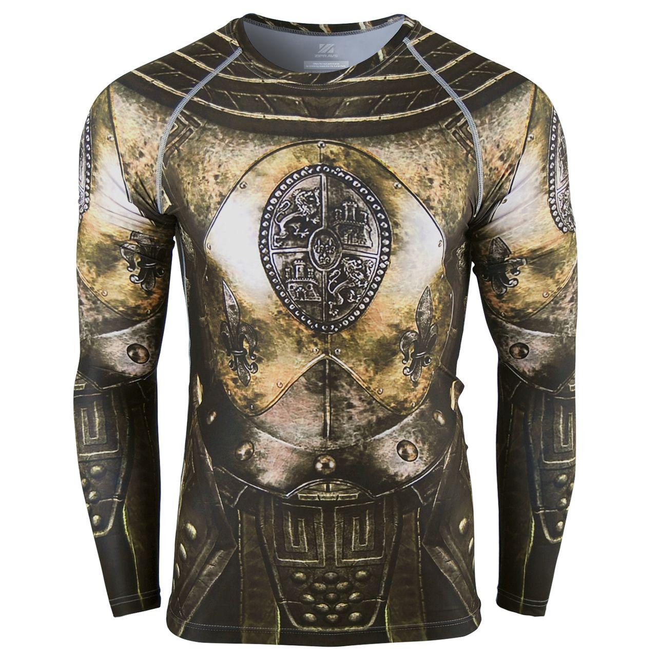Armour compression tight shirt under layer running t shirt рисунки