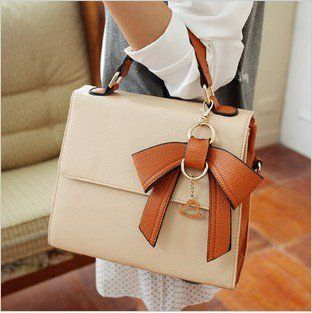 Dimensional bow handbag 4 color xb0013 from lovely girls