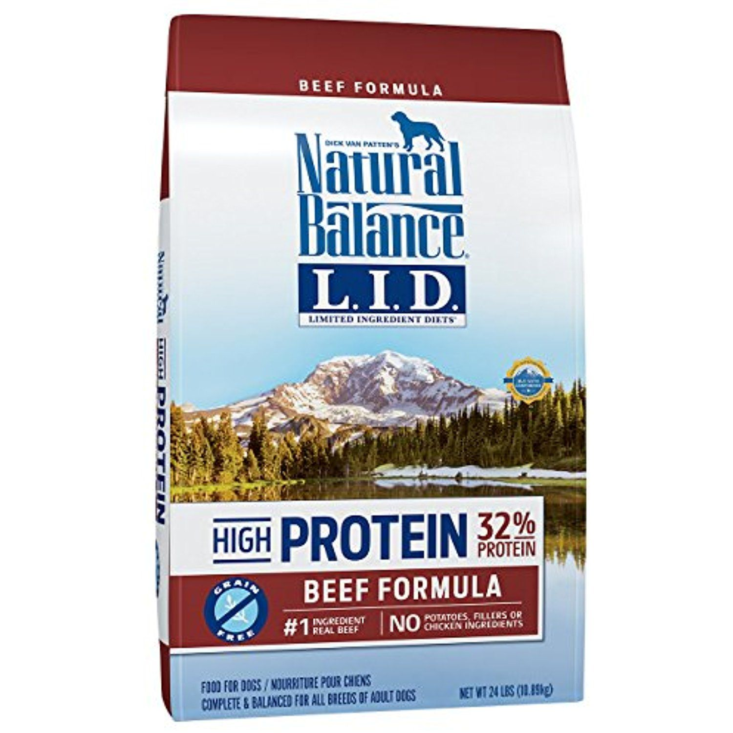 Natural balance limited ingredient diets high protein dry
