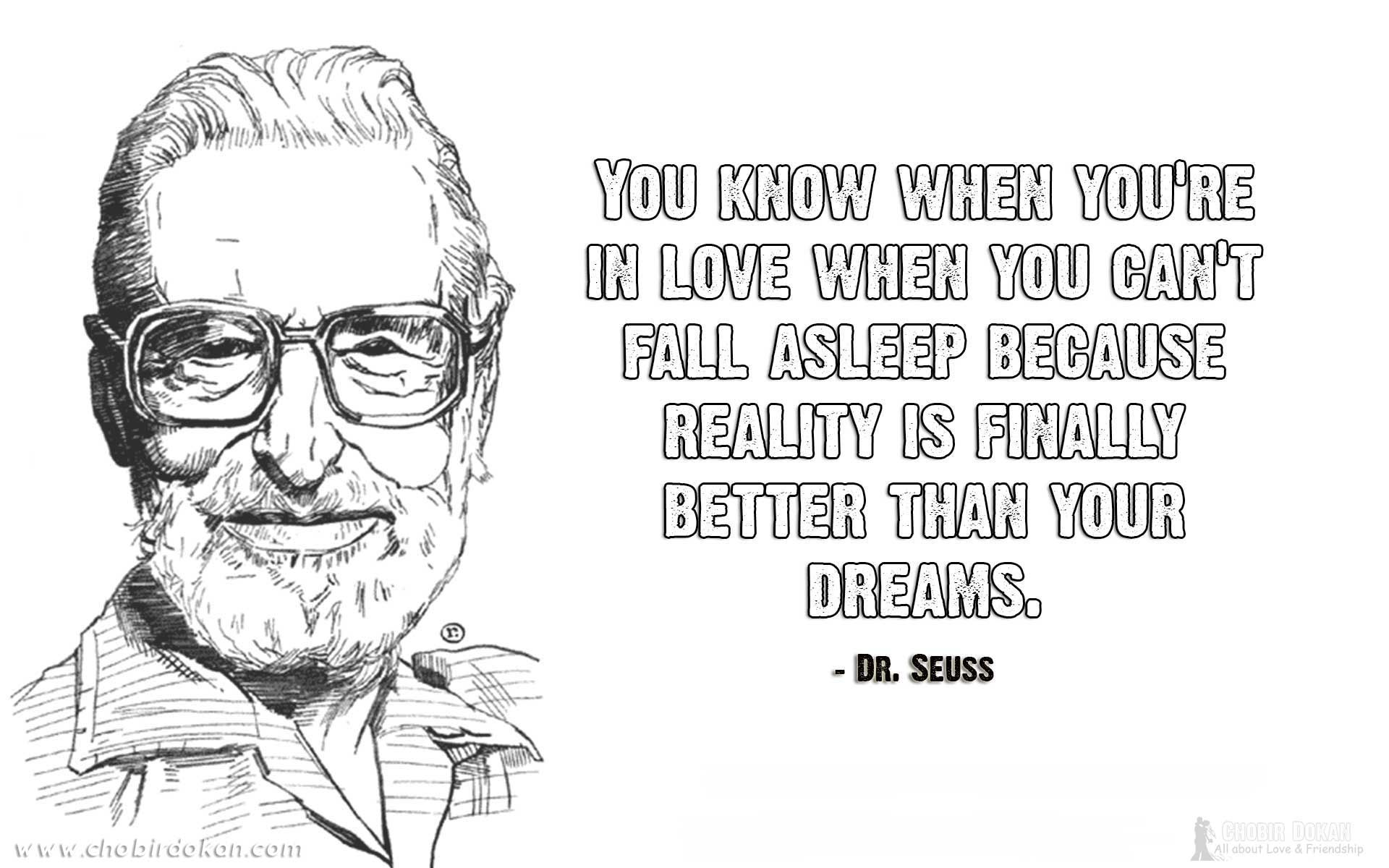 Famous People Love Quotes Dr Seuss Love Quotes  Cute Romantic & Sad Love Quotes Images