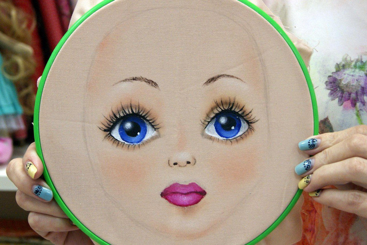 Наши творческие посиделки 2015 год! #dollfacepainting