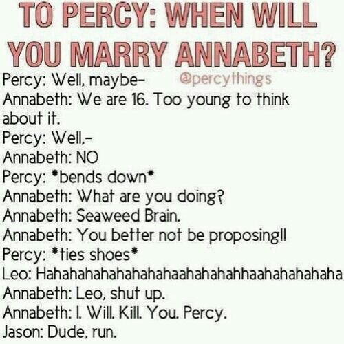 Just dating pjo fanfic