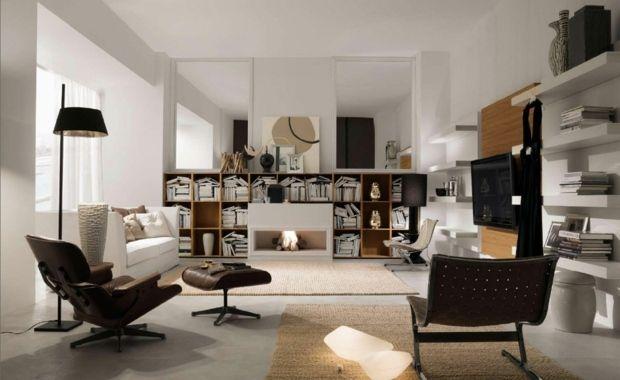 Le Salon Moderne Inspire Par L Elegance Italienne Contemporary Living Room Furniture Living Room Decor Home Interior Design