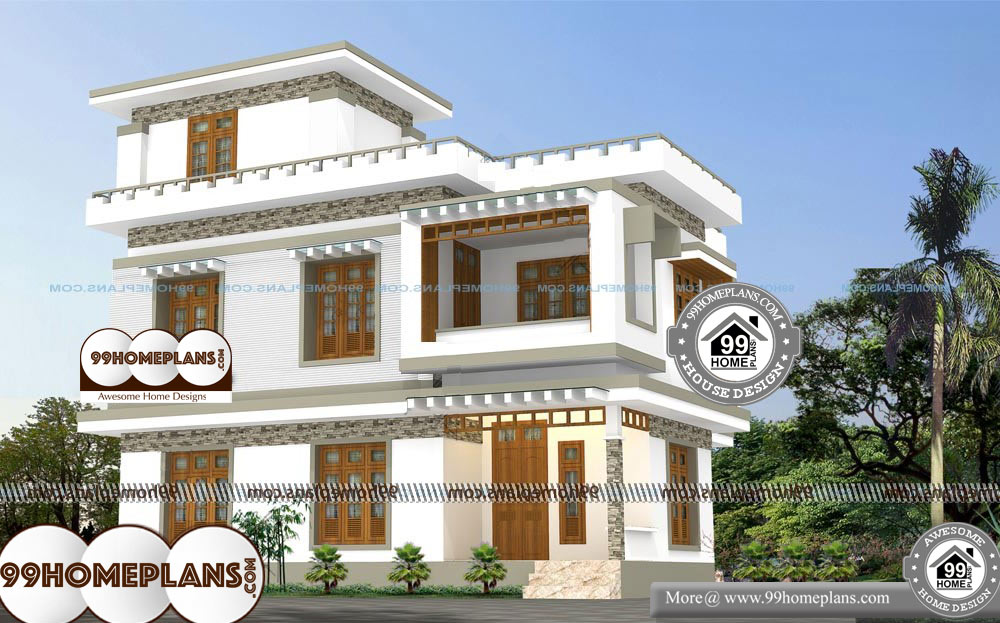 Top 200 Indian House Designs Floor Plans Free 100 Two Story Home Designs Floor Free Hom In 2020 Indian Home Design Classic House Design Craftsman House Designs
