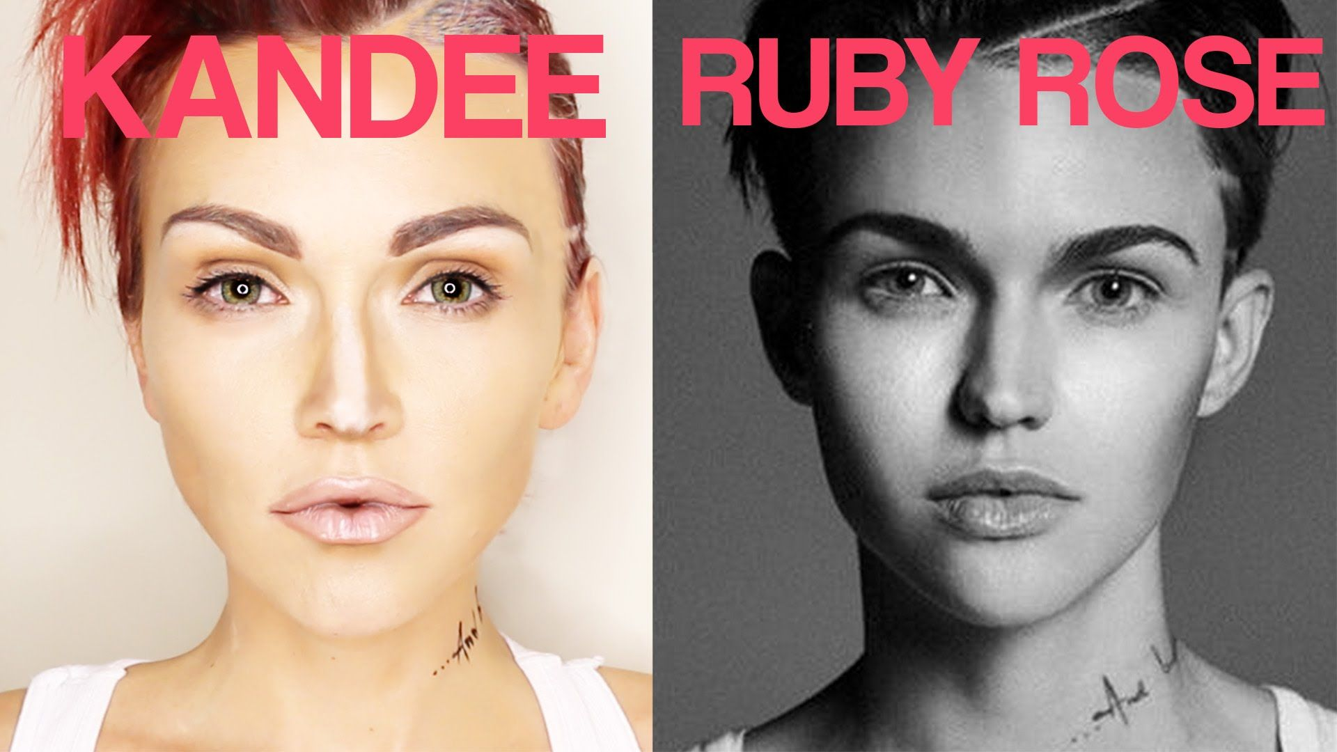 Ruby rose transformation kandee johnson fashion and beauty makeup ideas baditri Gallery