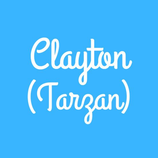 Clayton Disney Baby Names Baby Names Names With Meaning