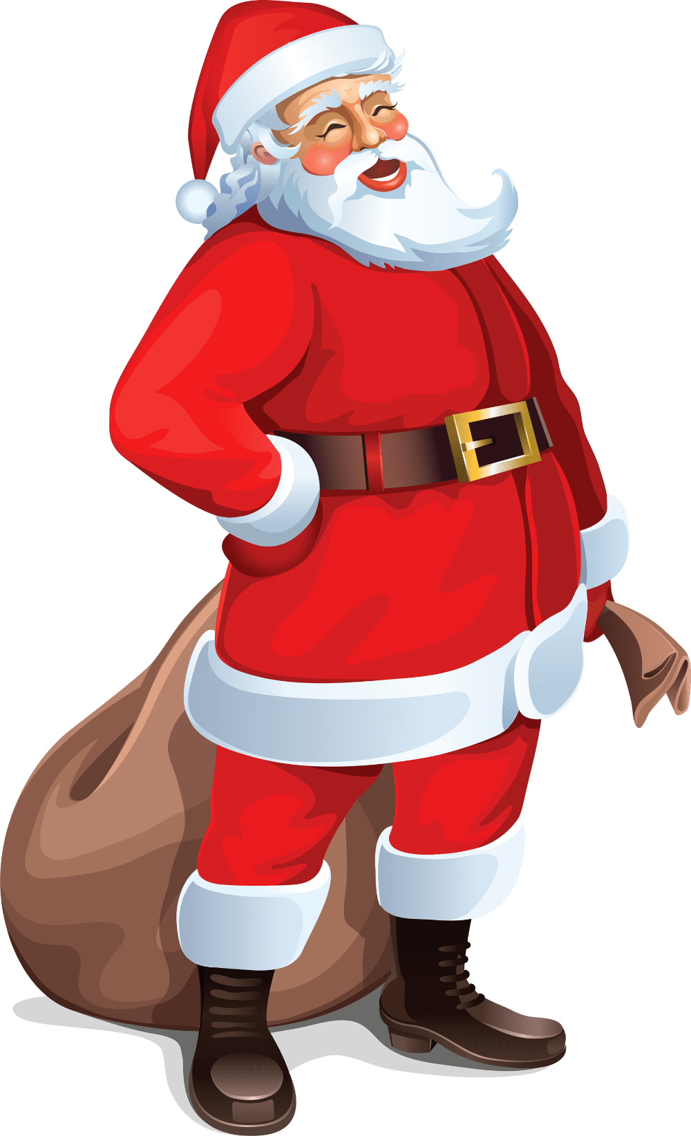 Celebrate Christmas Santa Claus Illustration Santa Clipart Western Festival Happy Png And Vector With Transparent Background For Free Download Santa Art How To Draw Santa Christmas Vectors