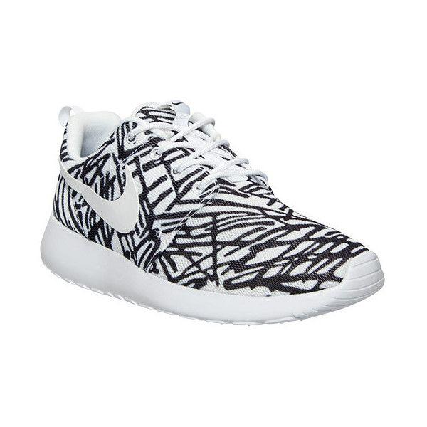 Nike Roshe Une Chaussure Impression De Femmes De 80 $
