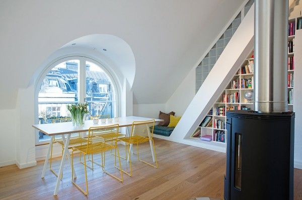 1920 S Tenant House Goes Swedish Modern Interio Loft Interior