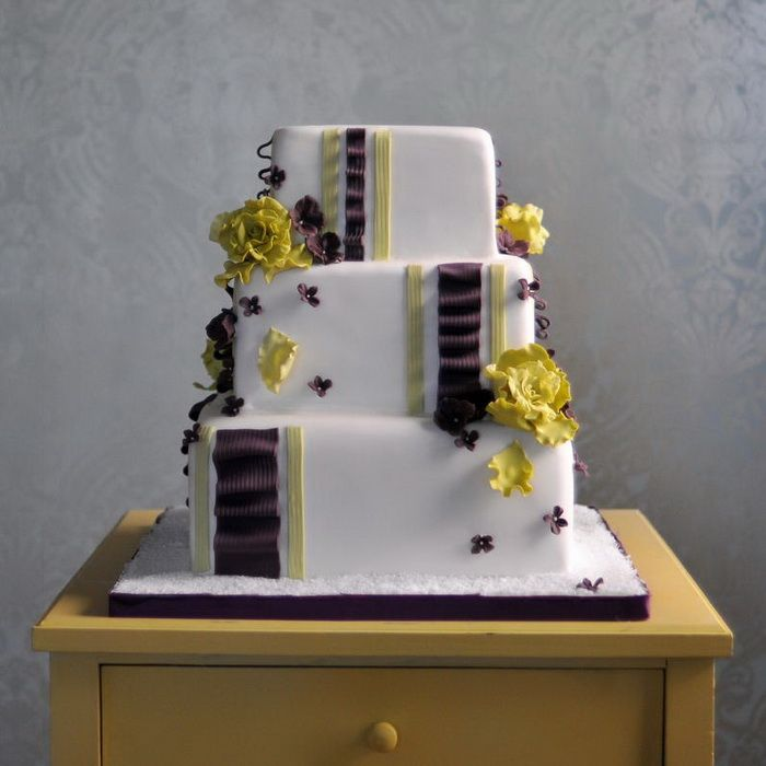 Small Wedding Cakes Square