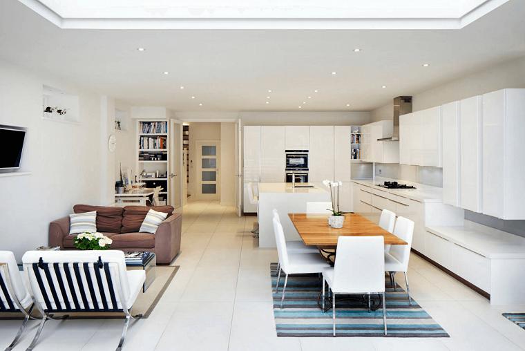 cucina open space soggiorno sala pranzo | Casa nel 2018 | Pinterest ...