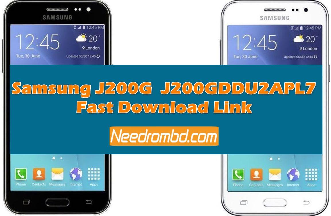 Samsung J2 [J200GDDU2APL7] Fast Download Rom   Smartphone Firmware