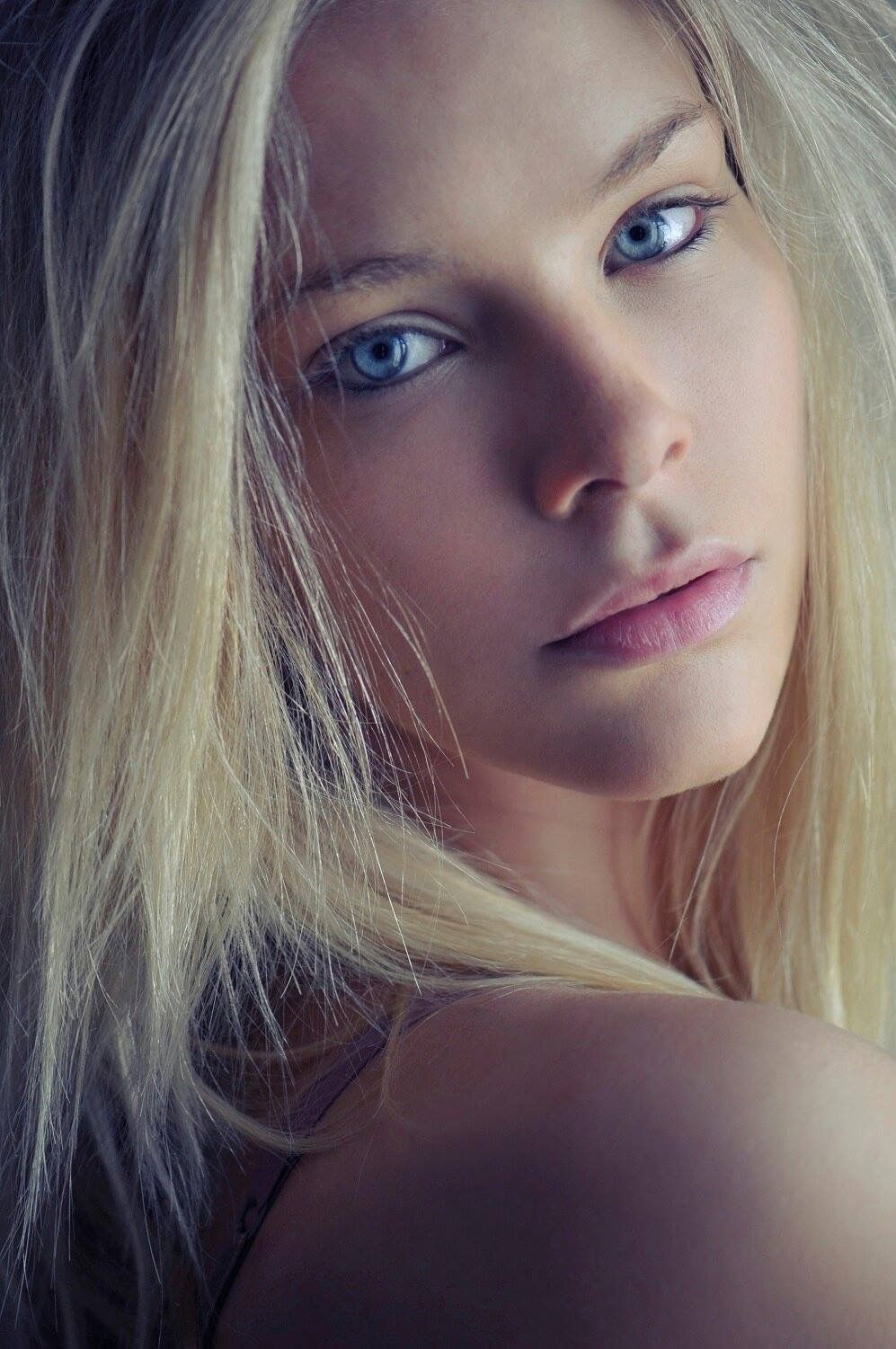 Louise Buffet French Model Nordic Blue Eyes Blonde Hair Beautiful Eyes Beautiful Blonde Beautiful