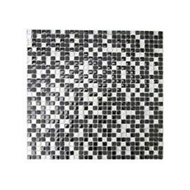 Mosaique Noire Argent 30 X 30 Cm Akira Castorama Mosaique Et