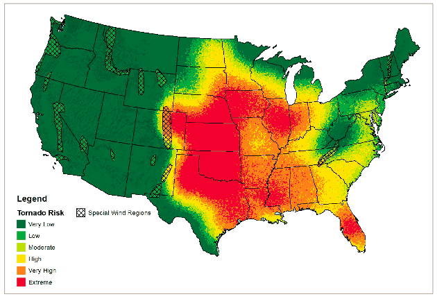 Image result for national tornado map national stats pinterest tornado map publicscrutiny Gallery