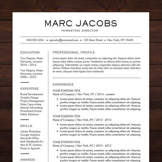 Pin By Priscila Medeiros On Cv    Professional Resume