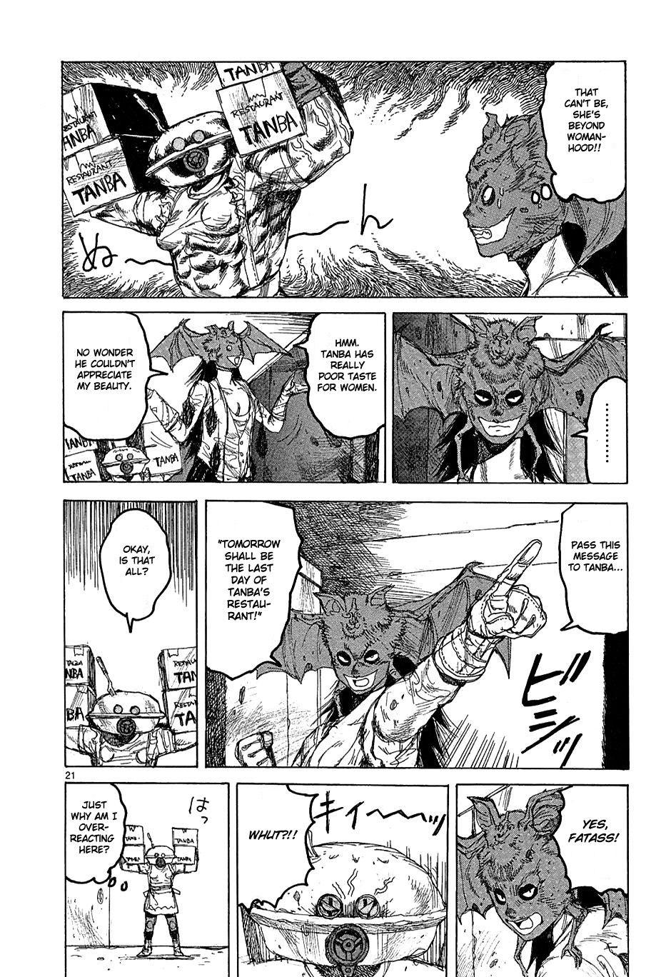 Read manga Dorohedoro 037 online in high quality (mit Bildern)
