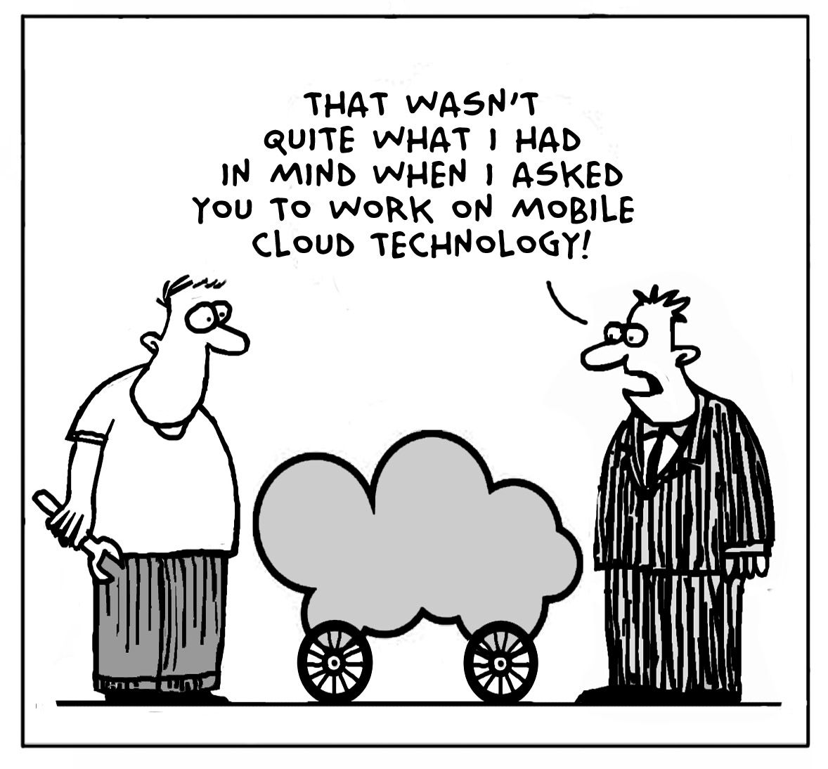Is This A Mobile Cloud Are You Serious