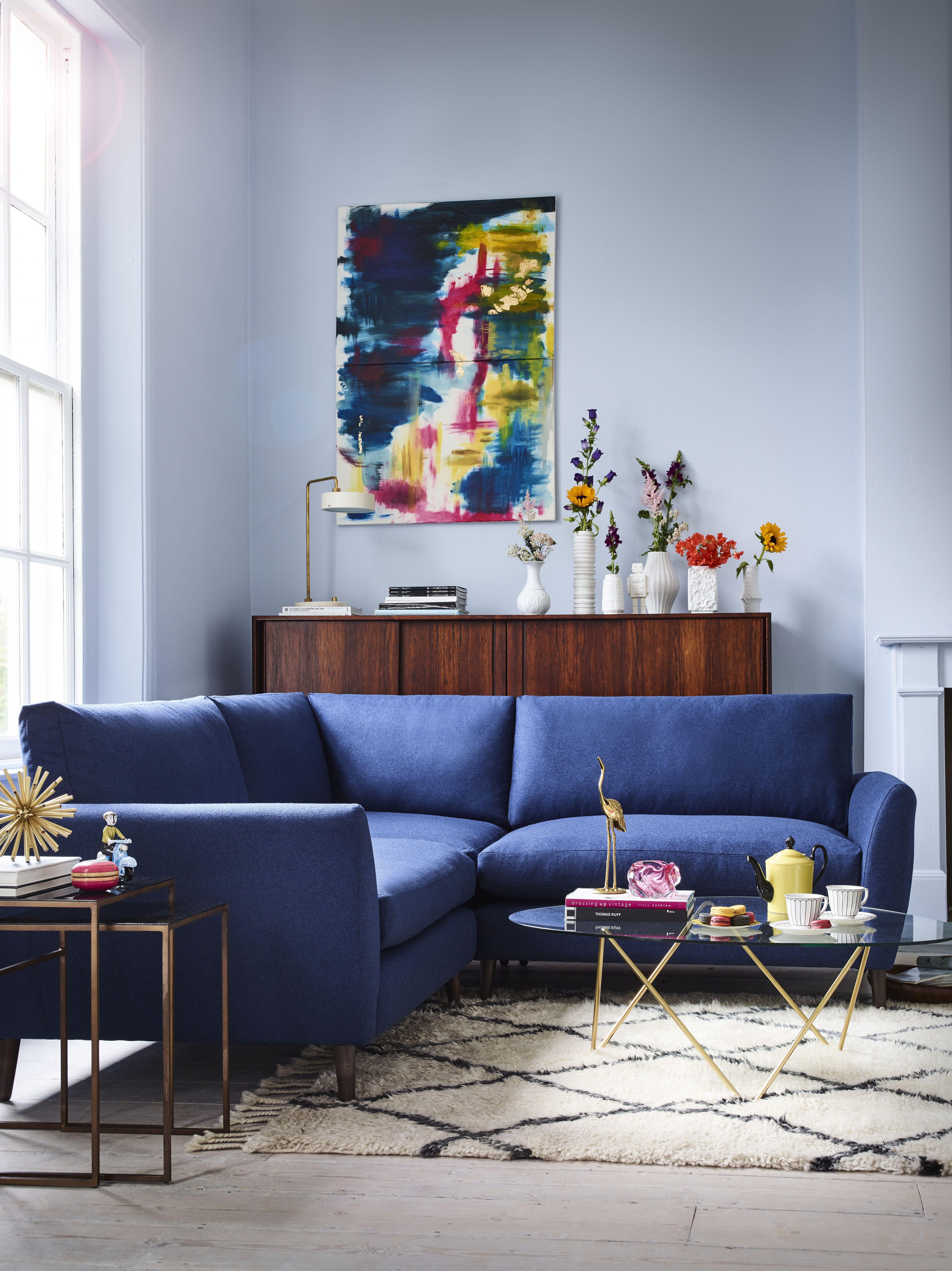 Earnshaw Small Corner Sofa | Corner sofa living room ...