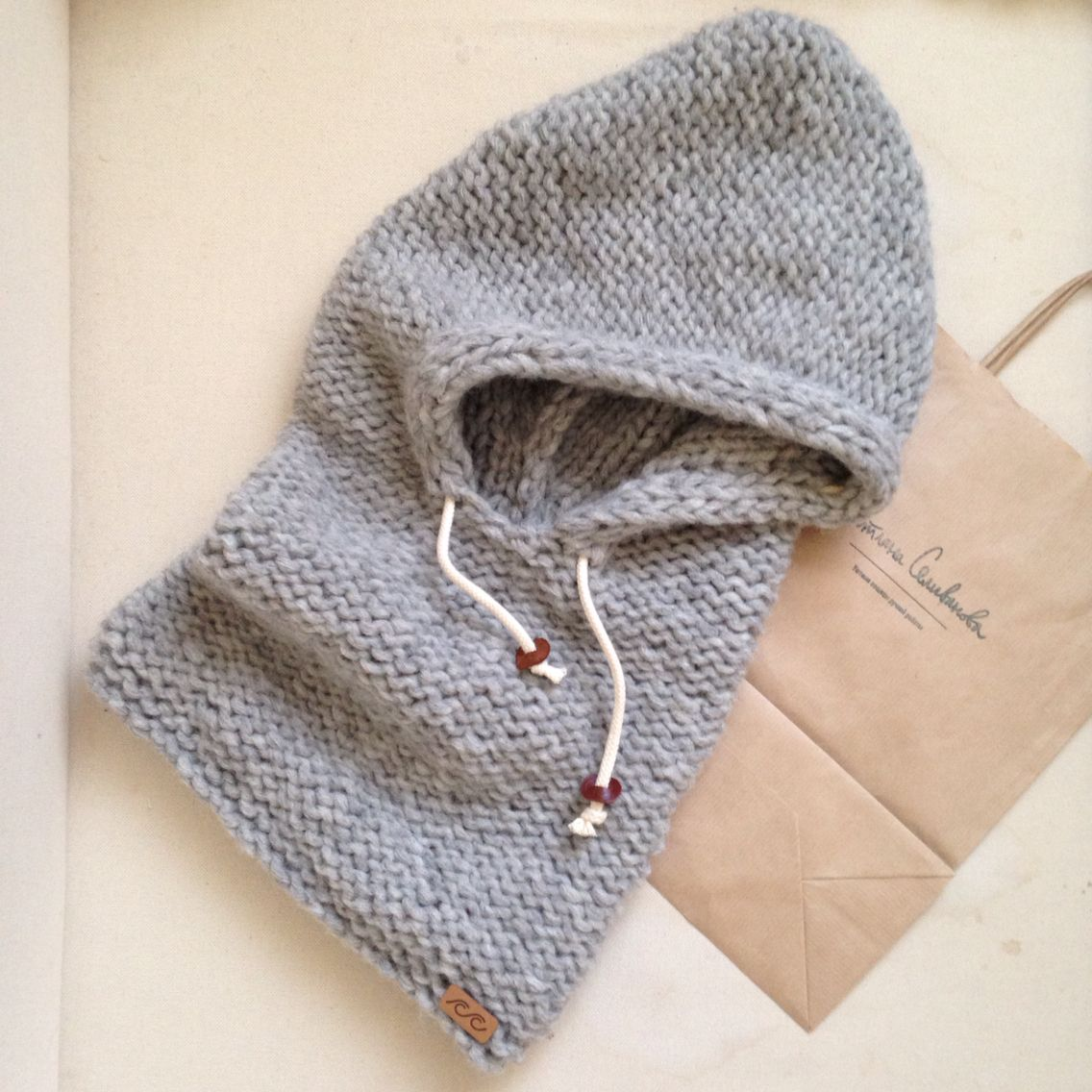 My new knitted hood ❤ | My handmade | Pinterest | Mützenschal ...