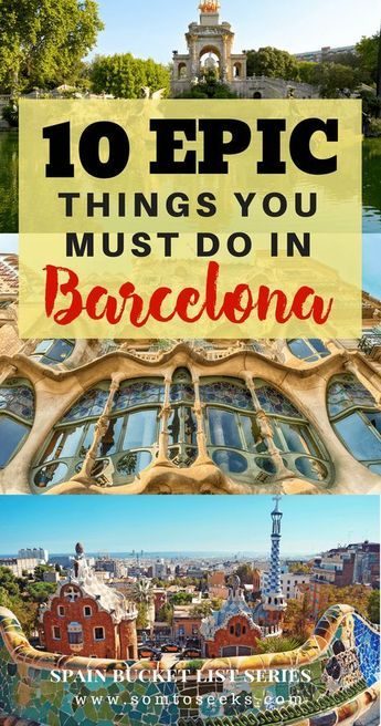 Barcelona Spain Travel I Planning to visit Barcelona and wondering what to do? Here are 10 epic things to do in Barcelona for first-time visitors. From architecture to food, find out the top 10 things to do in Barcelona. Read on for the best Barcelona travel tips!