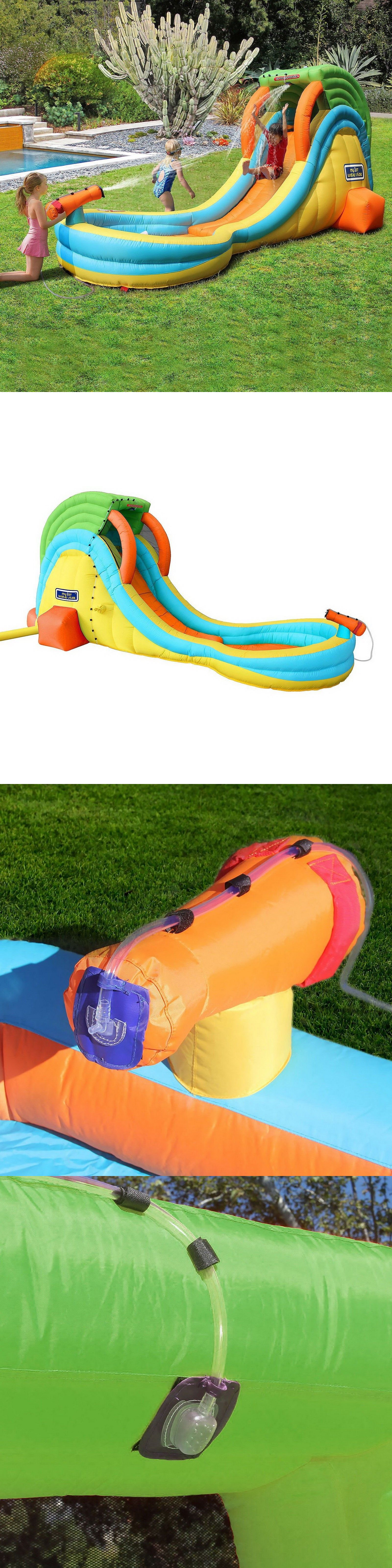 water slides 145992 my 1st inflatable water slide park with toy