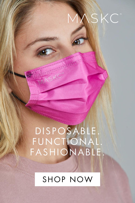 Disposable Fashion Face Masks