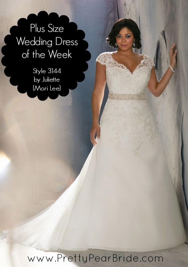 Plus Size Wedding Dress Of The Week Style 3144 By Julietta Mori